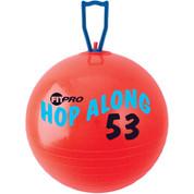 Cardio Exercise Fitpro Hop Along Pon Pon Ball 53 cm, Red
