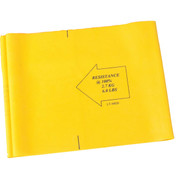 Light/Medium Resistance 4ft Rehabilitation Therapy Resistance Band - Yellow