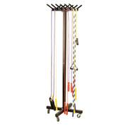 Wheeled Portable Jump Rope Cart