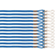 Blue Heavy Duty Nylon Sports Lanyard