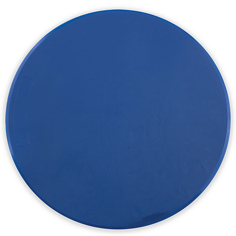 9-Inch Blue Poly Spot Gym Floor Marker for PE Games