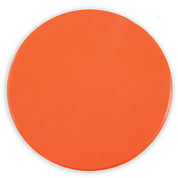 9-Inch Orange Spot Gym Floor Marker Set for PE Games