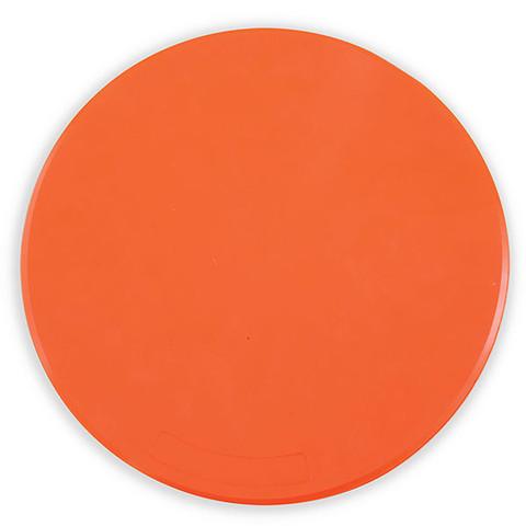 9-Inch Orange Spot Gym Floor Marker Set for PE Games