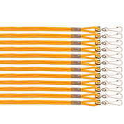 Gold Heavy Duty Nylon Sports Lanyard