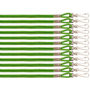 Green Heavy Duty Nylon Sports Lanyard