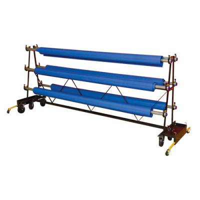 Premium Gym Floor Cover Storage Racks