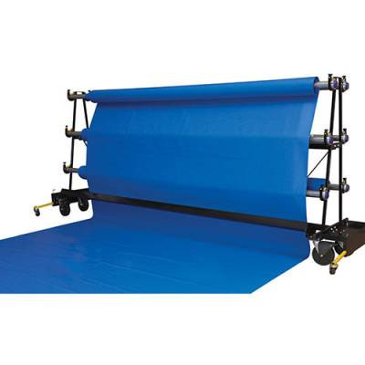Gym Floor Cover Rack Brush Assembly