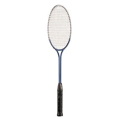 JUNIOR TEMPERED STEEL TWIN SHAFT BADMINTON RACKET by Champion Sports
