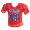 Pro Down Youth Waist Length Nylon Mesh Football Jersey