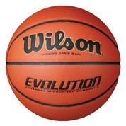 Women's Wilson Evolution Indoor Game Ball Composite Leather Basketball