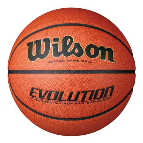 Men's Wilson Evolution Indoor Game Ball Composite Leather Basketball