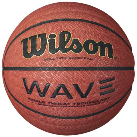 Men's Indoor Wilson Wave Indoor Grooved Basketball