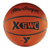 Women's MacGregor X6WC YMCA Logo Rubber Basketball