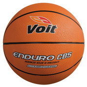 Rookie Size Voit Enduro CB5 Rubber Indoor and Outdoor Basketball