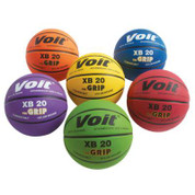 Women's Voit XB 20 The Grip Rubber Indoor and Outdoor Basketball Color Prism Pack