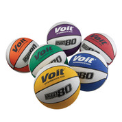 Women's Voit Lite 80 Rubber Basketball Multi Color Prism Pack for Indoor or Outdoor Play