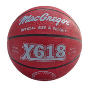 Green MacGregor Durable Rubber Indoor and Outdoor Basketball - Men's Size