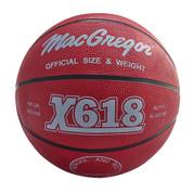 Yellow MacGregor Durable Rubber Indoor and Outdoor Basketball - Men's Size