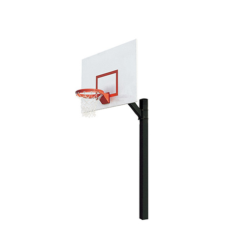 Bison Ultimate Jr. Fan Steel Rectangle Shape Backboard Breakaway Basketball System