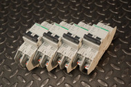 Lot of 4 Schneider Electric Multi 9, C60, D 7A, Circuit Breaker, 60259