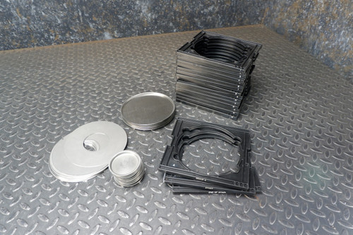 "Sample Carrier Trays & Inserts for 5"" Large Area Alpha/Beta Counter"