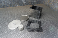 """Sample Carrier Trays & Inserts for 5"""" Large Area Alpha/Beta Counter"""