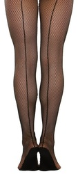 3400 - Capezio Adult  Professional Seamed Fishnet Tight