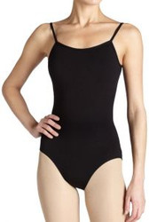 CC100 - Capezio Adult Camisole Leotard with Adjustable Straps