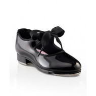 "N625C - Capezio Child ""Jr. Tyette"" Ribbon Tie Tap Shoes"