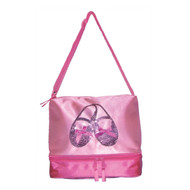 3402 - Horizon Satin & Sequins Ballet Slipper Tote