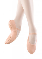 "S0258G - Bloch Child ""Dansoft II"" Leather Split-Sole Ballet Slipper"