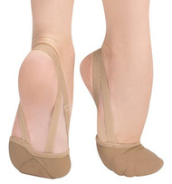 621A - Body Wrappers Adult Twyla II Leather Lyrical Shoe