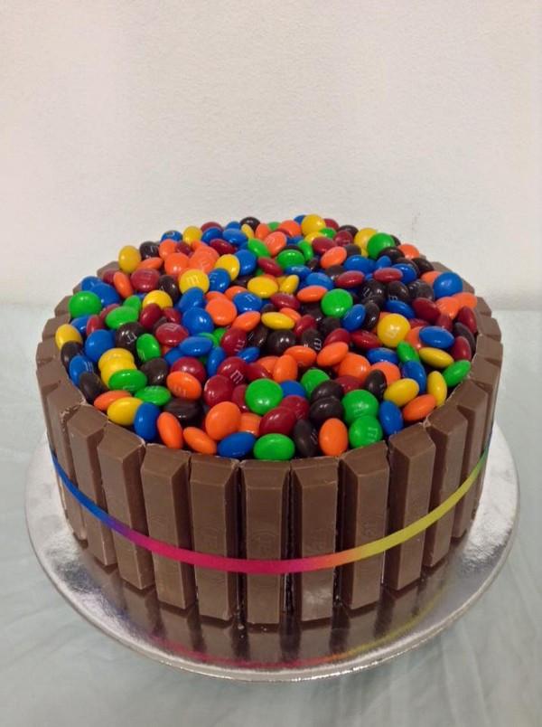 Superb Kitkats And Mms The Chocolate Cake Company Funny Birthday Cards Online Hendilapandamsfinfo