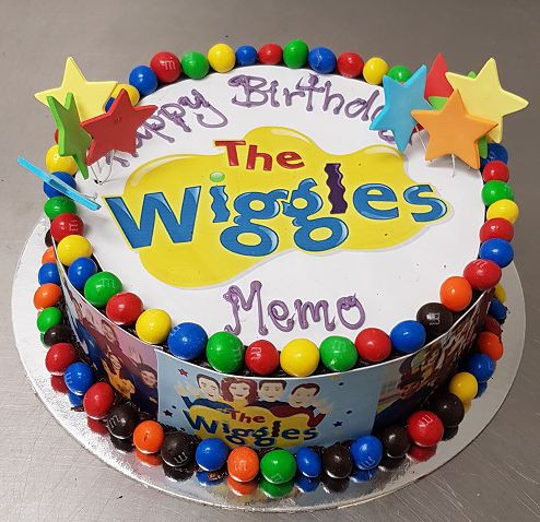 Stupendous Wiggles Birthday Cake The Chocolate Cake Company Birthday Cards Printable Opercafe Filternl