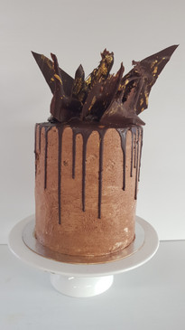 Dark Chocolate Mud Cake with Chocolate Buttercream