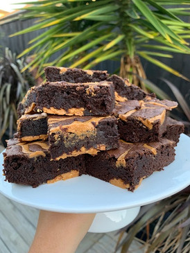 Extra Crunchy Peanut Butter Brownie