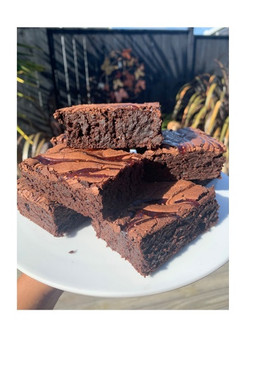 Chocolate and Raspberry Brownie