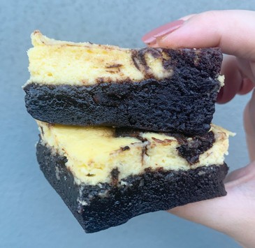 """Holly's Cheesecake Swirl Brownie"""