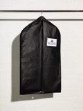 Black Heavy Duty Nylon Suit Cover with Gusset