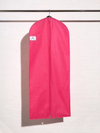 Picture of Dark Pink Breathable Dress cover bag