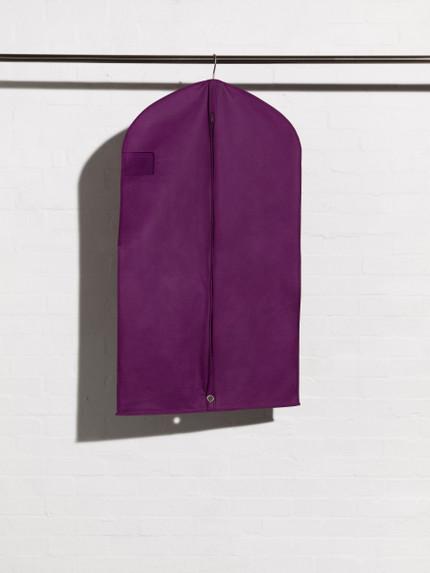 Breathable Purple Suit Cover style Ascot Suit