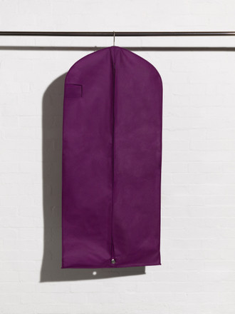 Breathable Purple Coat and Dress Cover Bag style Ascot Coat