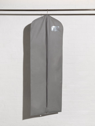 Silver Long Dress and Robe Cover Bag style ECF