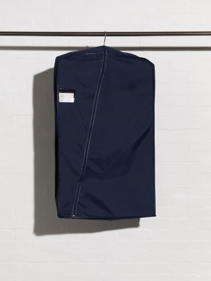 Navy Nylon Multiple Suit Cover style N36