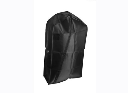 Black Jumbo Suit Cover idela for holding multiple garments
