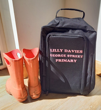Childrens Boot / Welly Bag Personalise