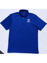 "Men's Viper Blue ""Car Color"" Polo"