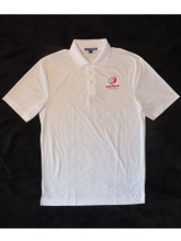 "Men's White ""Car Color"" Polo"