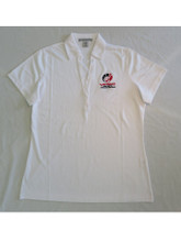 "Women's White ""Car Color"" Polo"