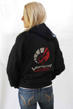 "LADIES CRYSTAL ""VIPER OWNERS ASSOCIATION"" BLING HOODIE"
